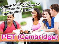 PET( Cambridge Exam Preparation )
